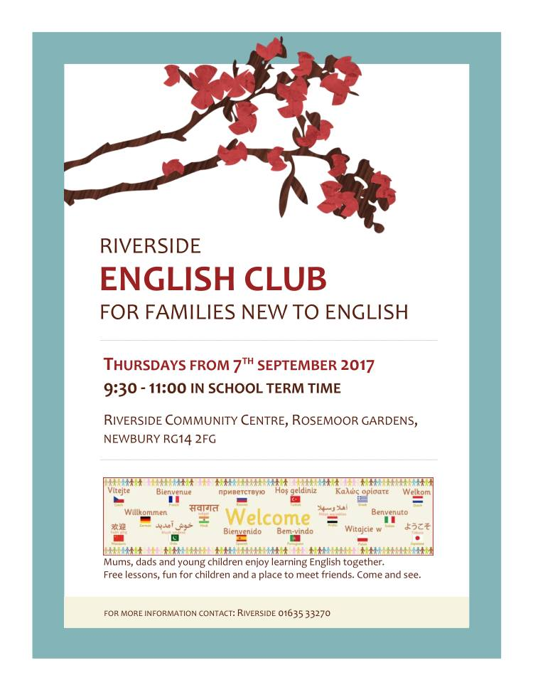 English Club Flyer